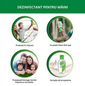 Dettol Dezinfectant pentru maini, gel, 50 ml [1]