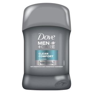 Dove Deodorant stick, Barbati, 50 ml, Men Care Clean Comfort [0]