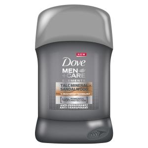 Dove Deodorant stick, Barbati, 50 ml, Men Care Elements Talc Mineral Sandalwood [0]