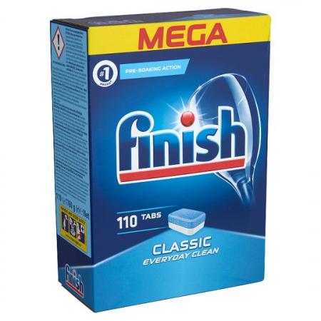 Finish Tablete pentru masina de spalat vase, 110 buc, Classic [0]