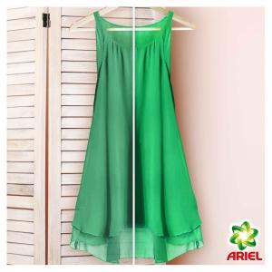 Pachet promo 4 x Ariel Detergent lichid, 2.2L, 40 spalari, Mountain Spring & Color [2]
