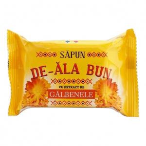 Sapun De-ala Bun, 90 g, cu extract de Galbenele [0]