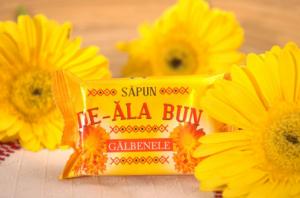 Sapun De-ala Bun, 90 g, cu extract de Galbenele [1]