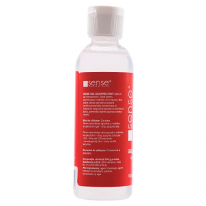 Sense Gel dezinfectant pentru maini, 85 percent alcool, 100 ml [1]