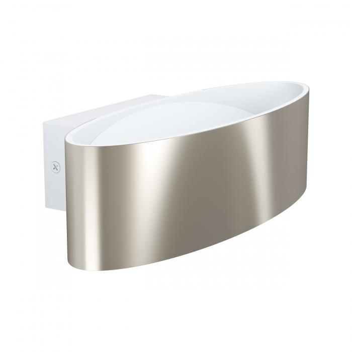 Aplica EGLO MACCACARI 98543, LED 10W 1100lm 3000K, Aluminiu, Otel, Transparent [0]