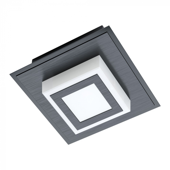 Aplica EGLO MASIANO 1 99361, LED 1X3.3W 340lm 3000K, Aluminiu, Otel, Satinat [0]
