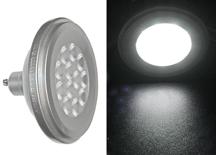Bec cu LED AR111 GU10 12W (≈86w) lumina calda [2]