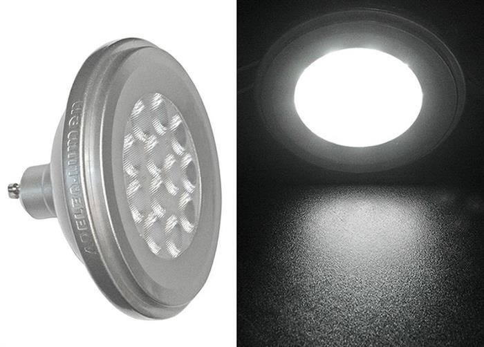 Bec cu LED AR111 GU10 12W (≈86w) lumina calda [1]