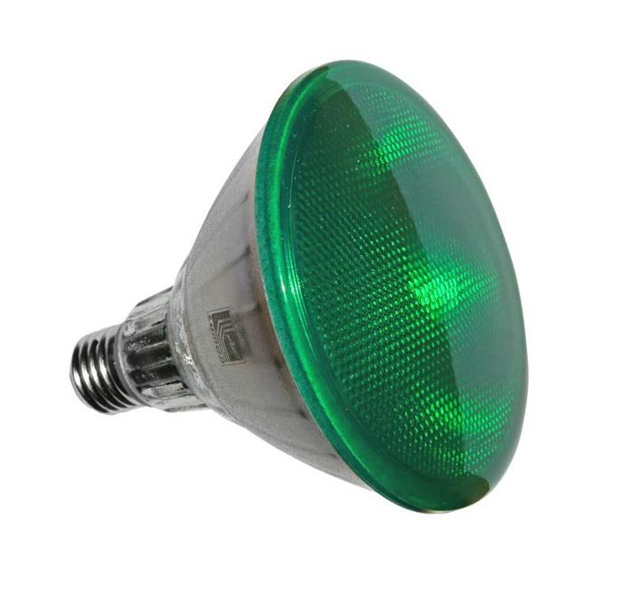 Bec cu LED PAR38 E27 15W lumina verde [0]