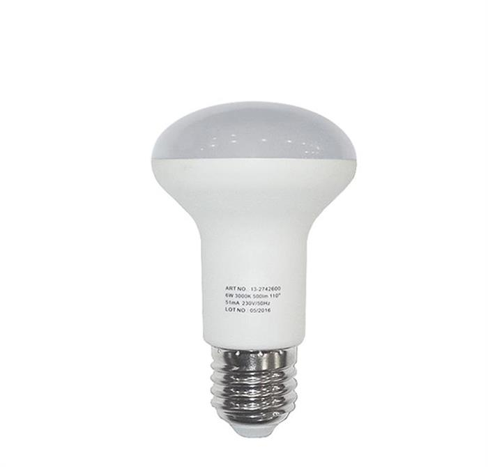 Bec cu LED R64 E27 8W (≈80w) lumina calda [0]