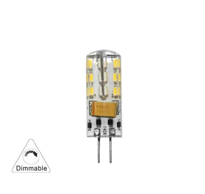 Bec cu LED SMD G4  dimabil 2.5W (≈22w) lumina calda [0]