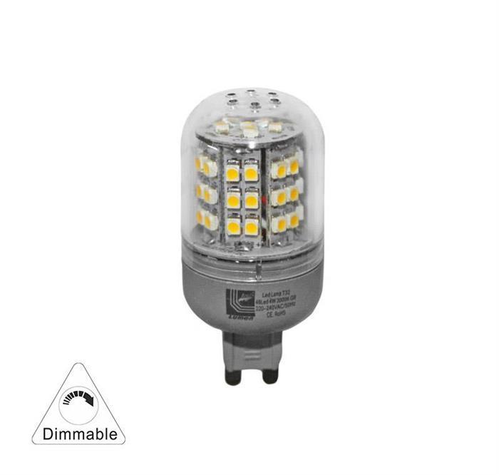 Bec cu LED SMD  G9 dimabil 4W (≈35w) lumina rece [1]