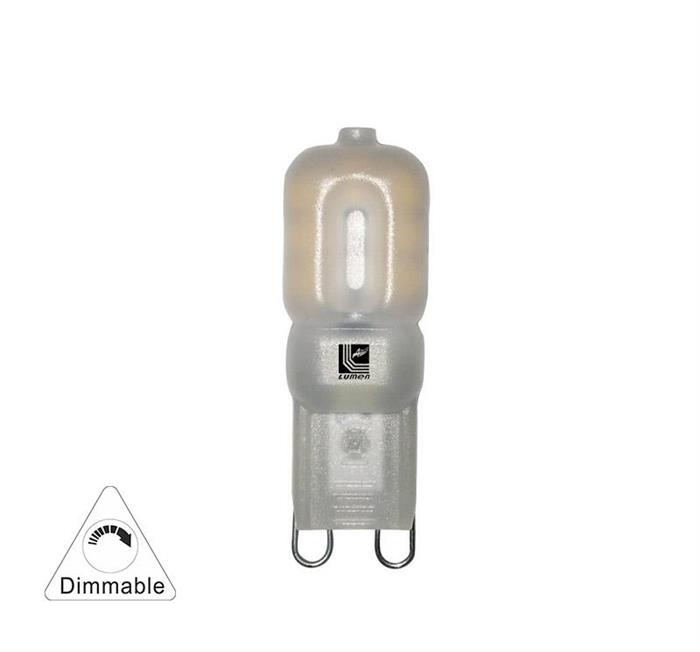 Bec cu LED SMD  G9 dimabil 4W (≈35w) lumina rece [0]