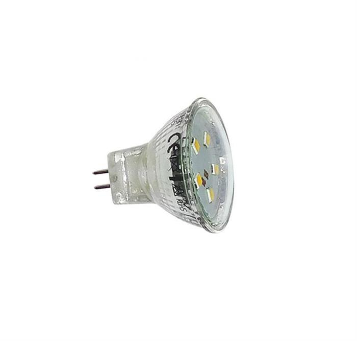 Bec cu LED SMD MR11 12V GU4 2W (≈22w) lumina calda [0]