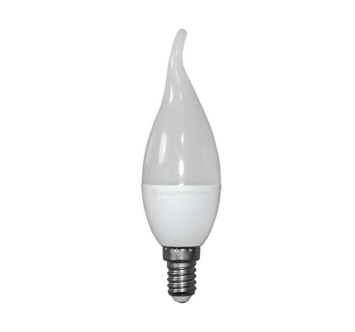 Bec lumanare ornamental mat cu LED E14 5W (≈50w) lumina calda [0]