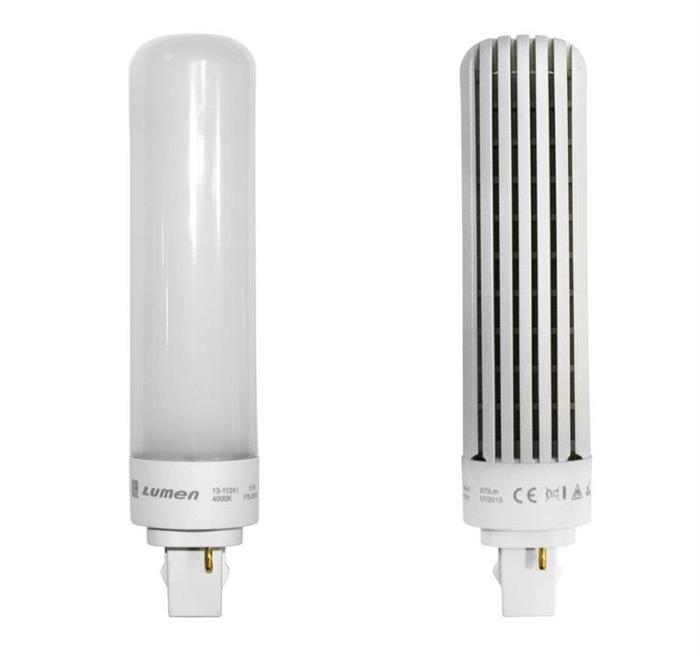 Bec PLC cu LED SMD  G24d 11W  lumina alba [0]