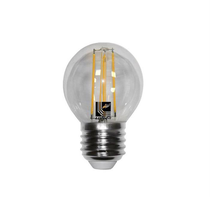 Bec sferic transparent cu LED COG E27 4W (≈48w) lumina calda [0]