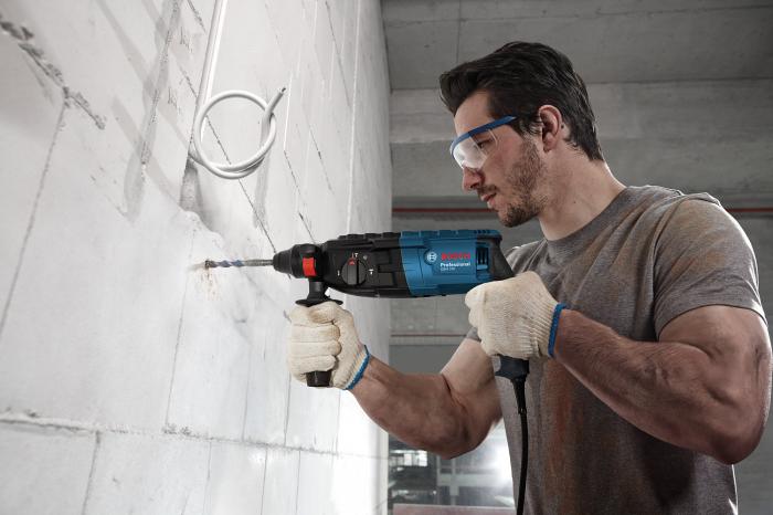 Ciocan rotopercutor Bosch GBH 240, 790W, 2.7J, 930rpm, SDS-Plus, 3 functii [1]