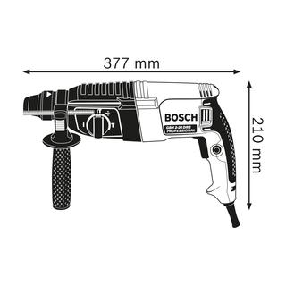 Ciocan Rotopercutor Gbh 2-26 Dre  + Burghie Bosch [1]