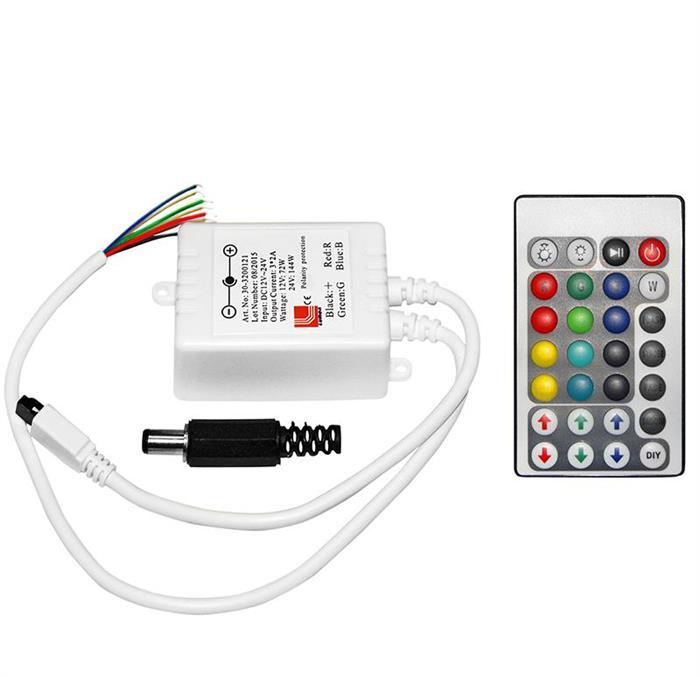 Dimmer & controler cu telecom.12/24V 6A [0]