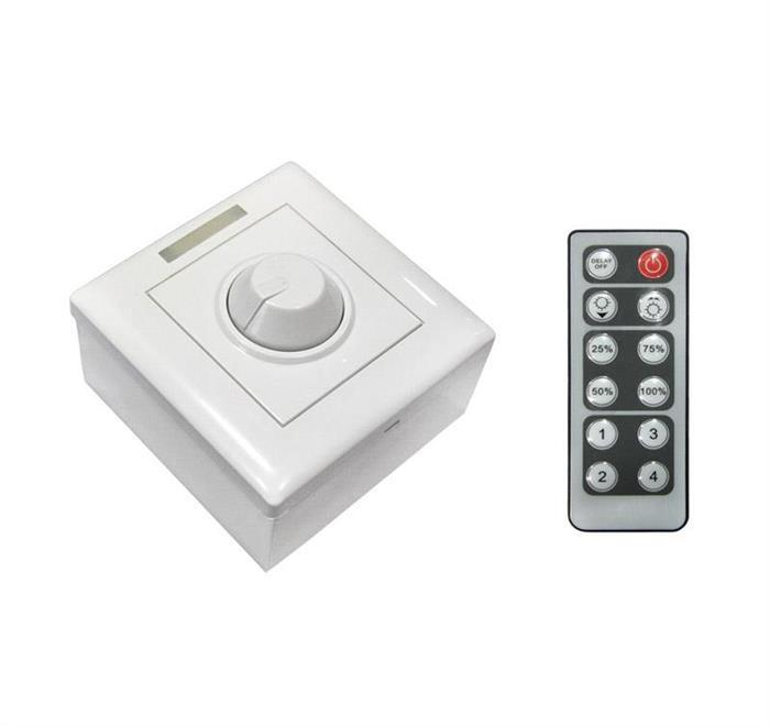Dimmer PT/ST+telecomanda 12/24V 8A [0]