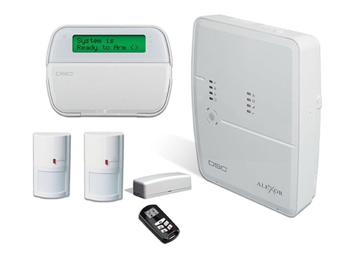 Kit alarma ALEXOR comunicatie bidirectionala [0]