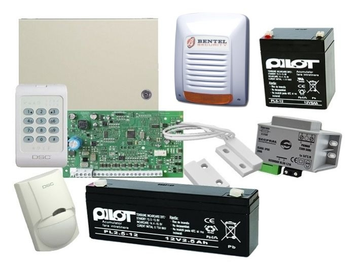 Kit alarma exterior PC1404, sirena exterior Neka  [0]