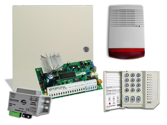 Kit alarma exterior PC585, sirena exterior SIR [0]