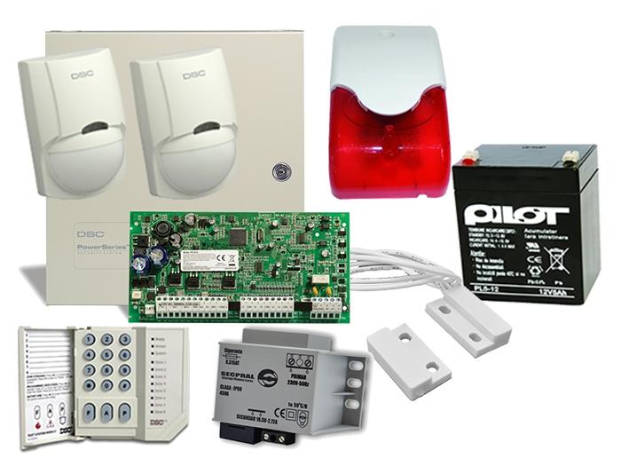 Kit alarma interior PC1616, sirena interior LD 95 [0]