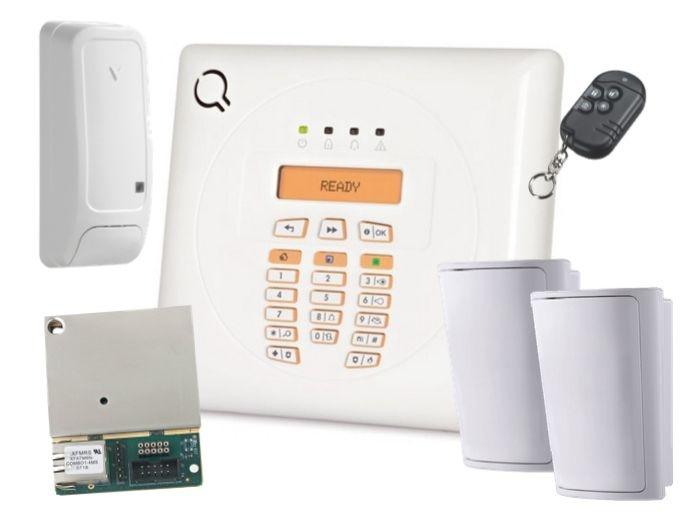 Kit alarma WP8010-K, detectori PIR wireless [0]