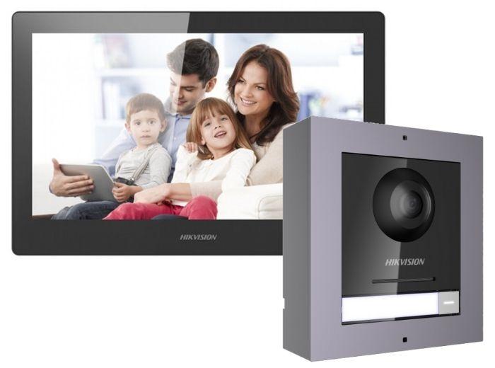 "Kit videointerfon LCD 10"", montaj aparent [0]"
