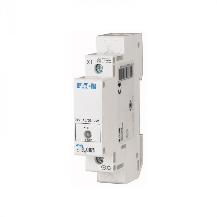Lampa verde de semnalizare faza modulara 230V Eaton Z-EL-/G230 [0]