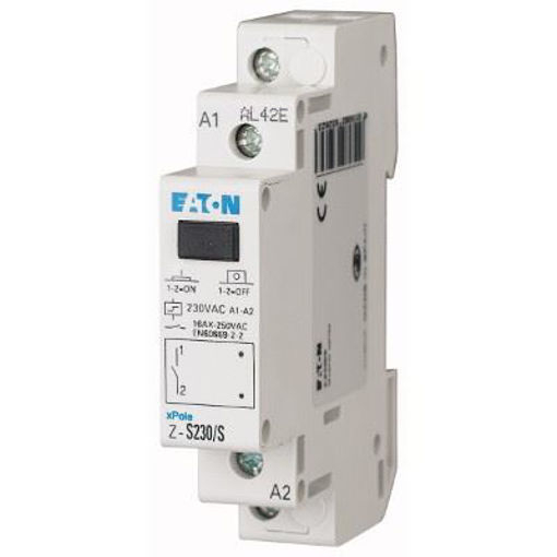 Lampa rosie de semnalizare faza modulara 230V Eaton Z-EL-/R230 [0]