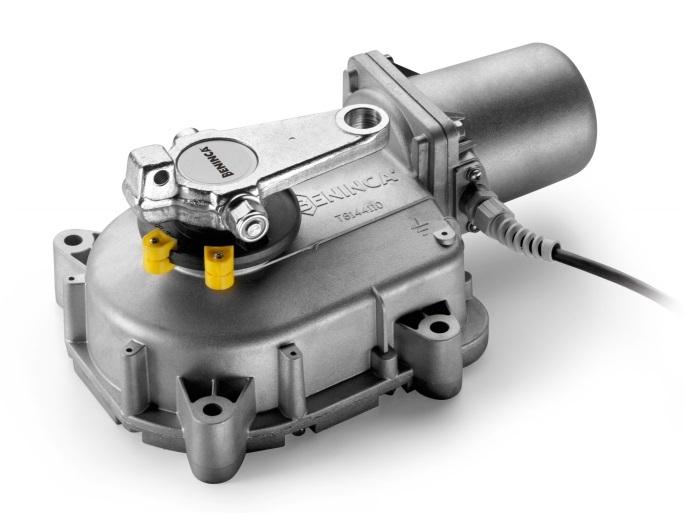 Motor de tip ingropat, porti batante  2.1m, alimentare 230VAC [0]