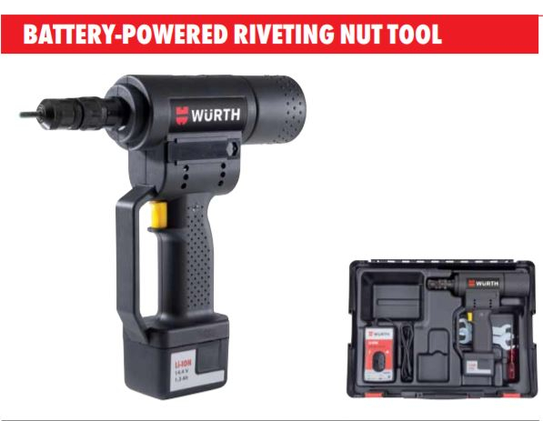 Pistol Wurth de nituit cu piulita acumulator 14,4V ANG 310 [1]