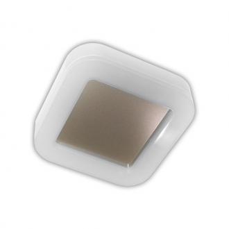 Plafoniera cu LED patrata si oglinda din inox IP65 [0]