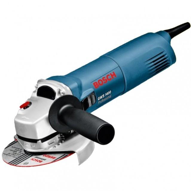 Polizor unghiular Bosch GWS 1400, 1400 W, 11.000 rpm, 125 mm [0]