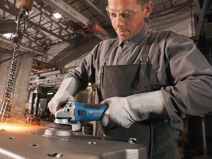 Polizor unghiular Bosch GWS 17-125 CIE, 1700 W, turatie variabila, 125 mm [2]