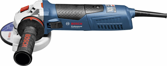 Polizor unghiular Bosch GWS 19-125 CIE, 1900 W, turatie variabila, 125 mm [0]