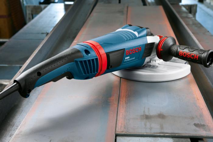 Polizor unghiular Bosch GWS 22-230 LVI, 2200 W, 6.600 rpm, 230 mm [1]
