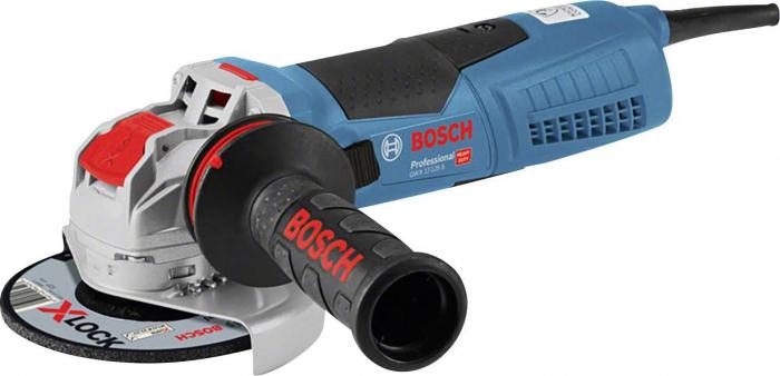 Polizor unghiular BOSCH Professional X-LOCK GWX 17-125 S, 1700W, 11500rpm, 125mm [0]