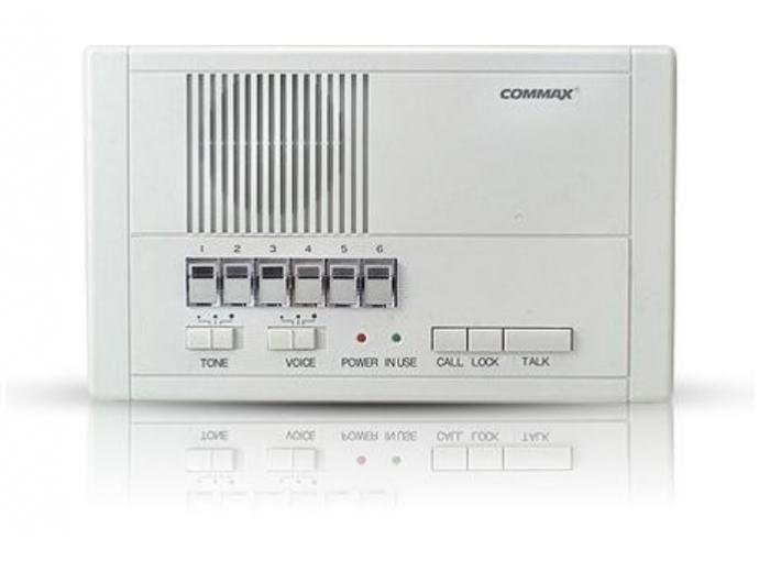 Post interior master pentru birou, Commax CM-206, 6 post-uri slave Commax CM-200, 2 fire, RF-1A,12Vdc [0]