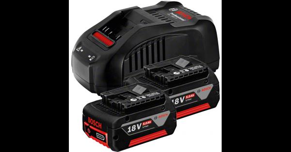 Set 2 acumulatori si incarcator  GBA 18V 5.0Ah + GAL 1880 CV, 18V, 5Ah [0]