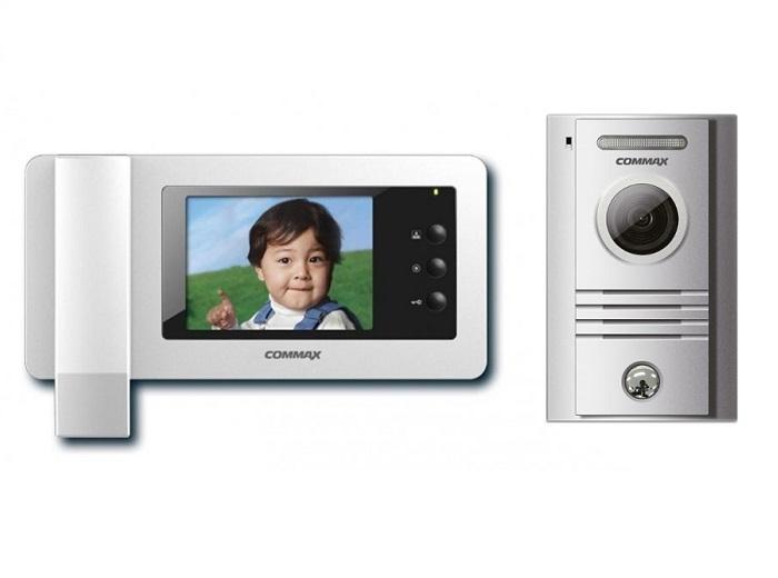 "Set videointerfon color LCD 4.3"" CDV-43N, camera DRK-40K  [0]"
