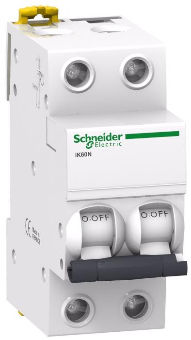 Siguranta automata 25A 2P 6ka ACTI9 IK60N Schneider A9K24225 [0]