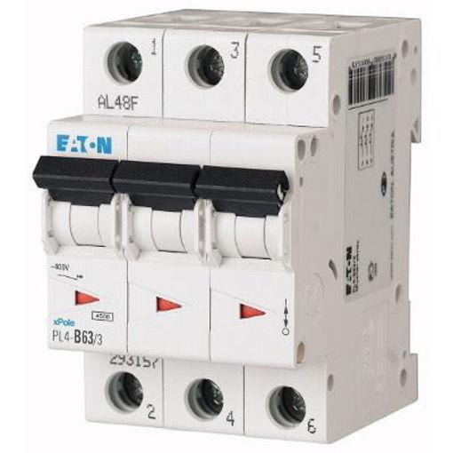 Siguranta  automata 20A 3P 4,5ka Eaton PL4-CLS4-C20/3 [0]
