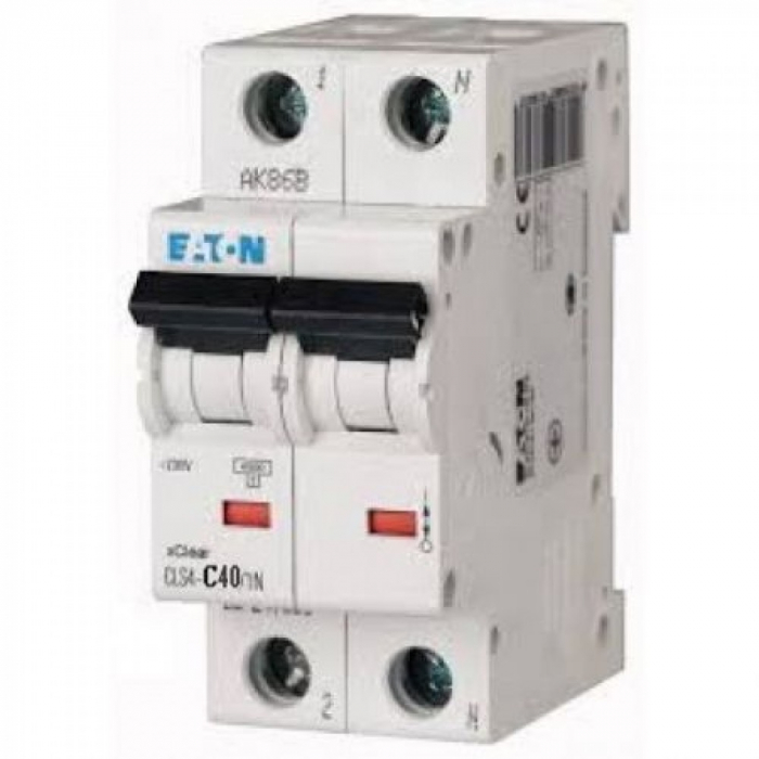 Siguranta  automata 6A 2P 4,5ka Eaton PL4-CLS4-C6/2 [0]