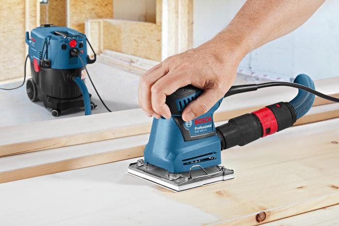 Slefuitor cu vibratii Bosch GSS 140-1 A, 180W, 113x101mm [2]