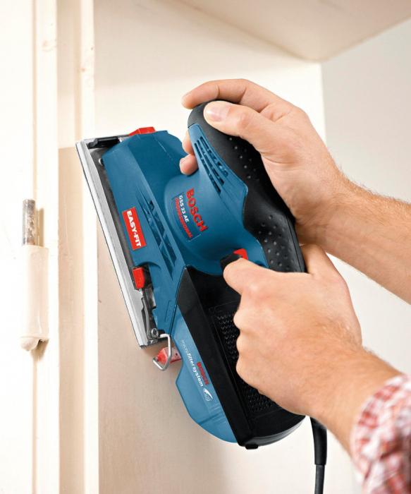 Slefuitor cu vibratii Bosch GSS 23 A, 190W, 92x182mm [2]