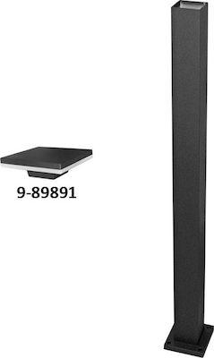 Stalp patrat h:0,95m pentru corp iluminat negru led b326 [0]